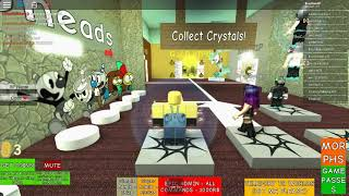 Trolling at CupHeads RP, exploring and doing parkour!   Roblox   Cupheads