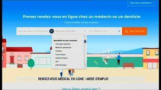 Rendez-vous médical en ligne : mode d'emploi - Le Magazine de la santé