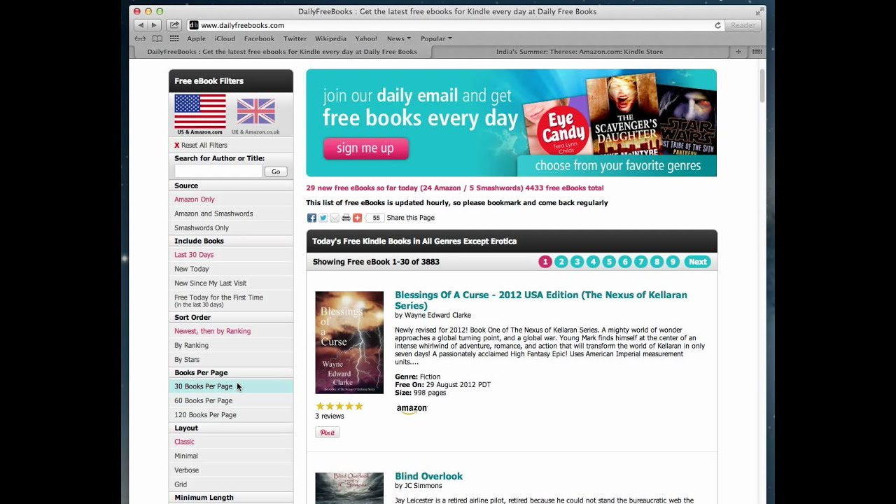 How to find and download free Kindle eBooks Legally and Easily