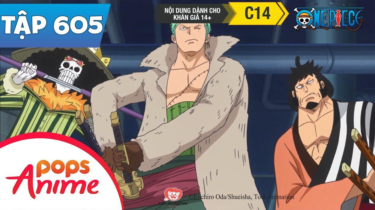 One Piece Tập 605 – Nước Mắt Của Tashigi. Kế Hoạch Bức Phá Tuyệt Vọng Của G5 – Đảo Hải Tặc