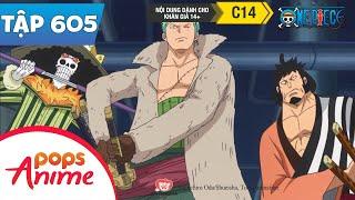 One Piece Tập 605 - Nước Mắt Của Tashigi. Kế Hoạch Bức Phá Tuyệt Vọng Của G5 - Đảo Hải Tặc