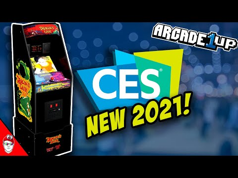 Arcade1up CES 2021 - Dragon's Lair from Console Kits