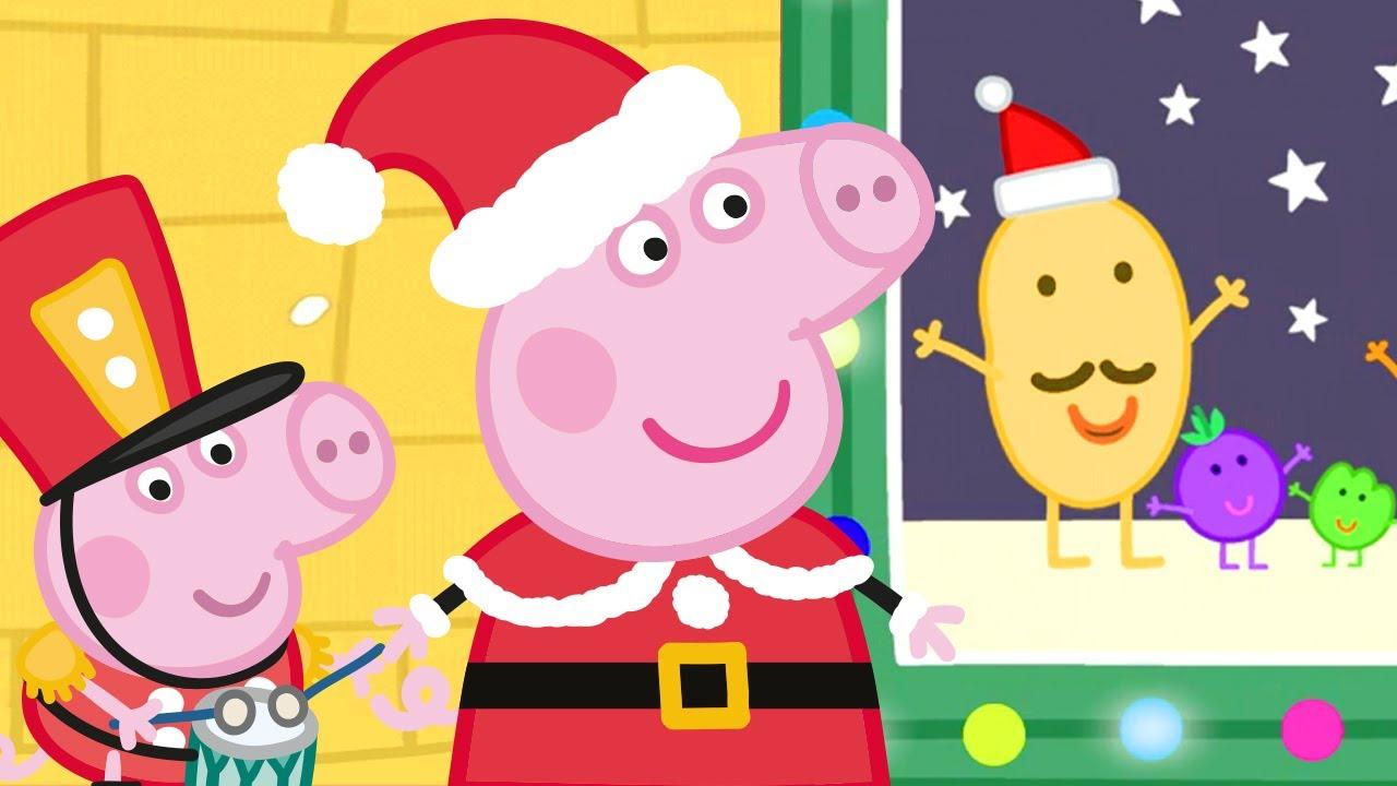 Peppa besucht Mister Kartoffels  Weihnachtsshow 🎄 Cartoons für Kinder | Peppa Wutz Neue Folgen