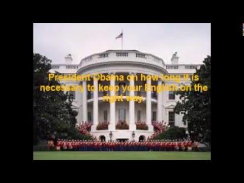 Presidente Obama Speaks for Yes, I do! English Course!