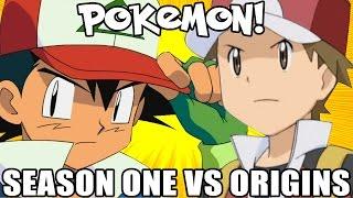 Pokemon! Season 01 vs Origins