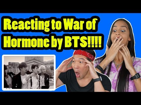 BTS - WAR OF HORMONE - REACTION VIDEO!!!