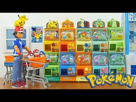 Download Youtube: Pokemon Mini Vending Machine Surprise Toys #2