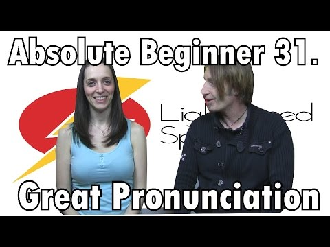 Spanish Lesson  31 Abs Beginners   Pronunciation  LightSpeed Spanish