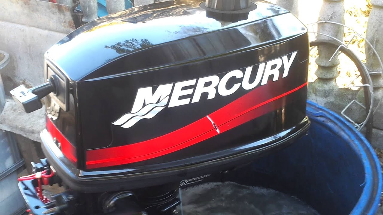 2003 mercury 5 hp outboard motor 2 stroke 2 suw youtube for 2 2 mercury outboard motor
