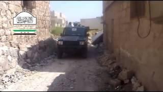 حلب  الخالدية   استهداف 23 الجوية من الخالدية 5 5 2013ج2