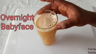 DRINK TO ACHIEVE A BABY FACE NO WRINKLES NO FINE LINES AGE REDUCTION DRINK