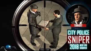 City Police Sniper 2018 Best FPS Shooter