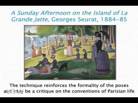 Otis Modern Art 09: Post-Impressionism Pt 2: Beyond Cezanne - Georges Seurat