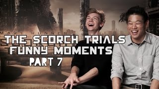 The Scorch Trials Funny Moments Part 7