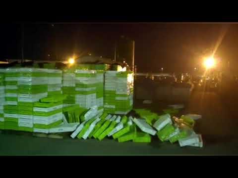 El puerto de Viveiro registra fuertes rachas de viento