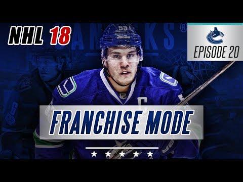 "NHL 18 Franchise Mode | Vancouver Canucks #20 ""Bye Bye Pettersson"""