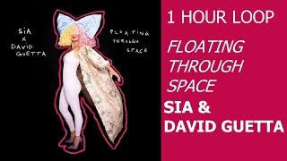 1 HOUR LOOP - Floating Through Space - Sia and David Guetta