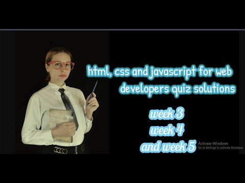 #Courseraquizsolution #Courseraassignment #week1-5 #html,css And JavaScript For Web Developer #free