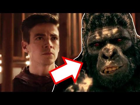 The Flash Season 3 Episode 13 Trailer Breakdown - Attack on Gorilla City!