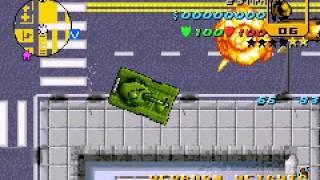 grand theft auto advance tank gameplay