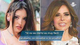 Valentina de la Cuesta reconoció que se mantiene alejada de las noticias sobre Gloria Trevi, pues éstas la llegan a alterar