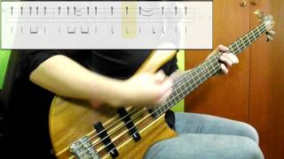 Motörhead - Ace Of Spades (Bass Cover) (Play Along Tabs In Video)