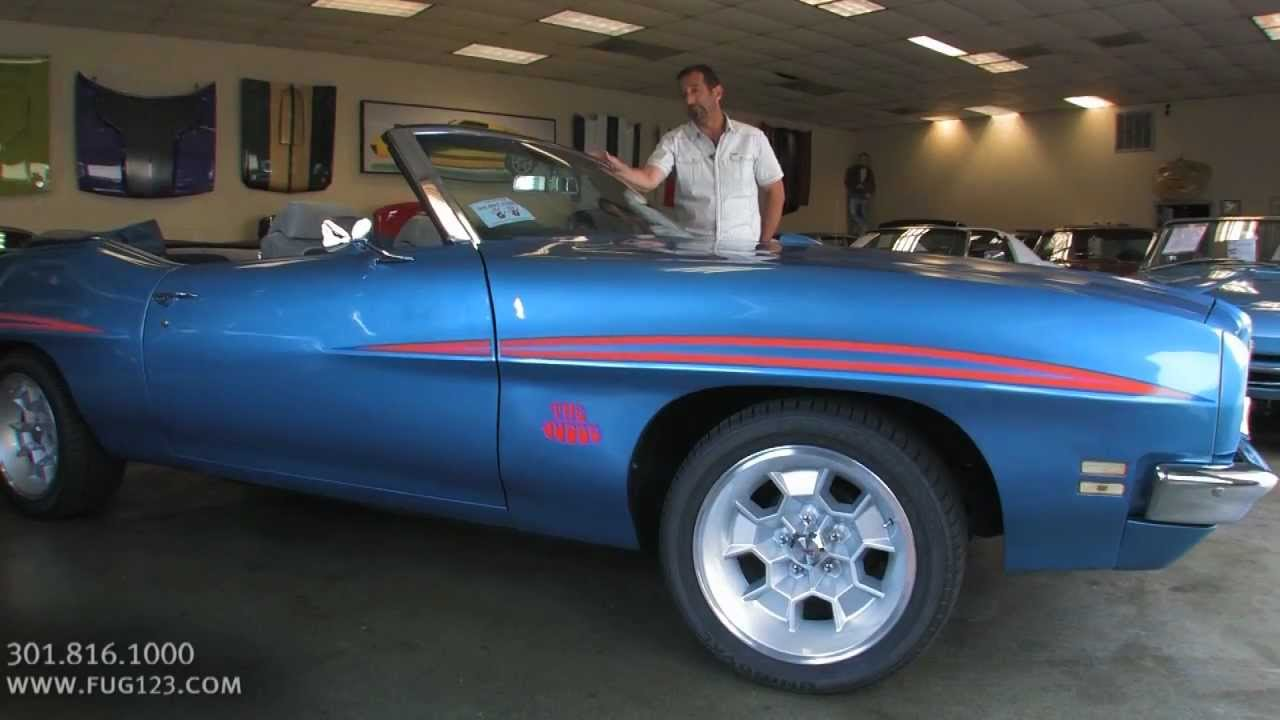 1972 Pontiac Gto Convertible Judge For With Test Drive Driving Sounds And Walk Through Video