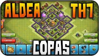 Aldea subida de copas para TH7   Diseño de Aldeas #2   Clash of Clans en Español