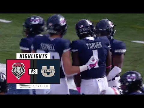 New Mexico vs. Utah State Football Highlights (2018) | Stadium