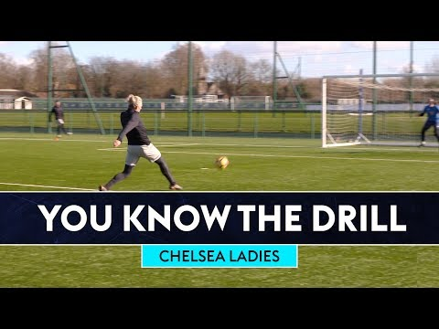 Jimmy Bullard's best EVER goal?!    Chelsea Ladies   You Know The Drill