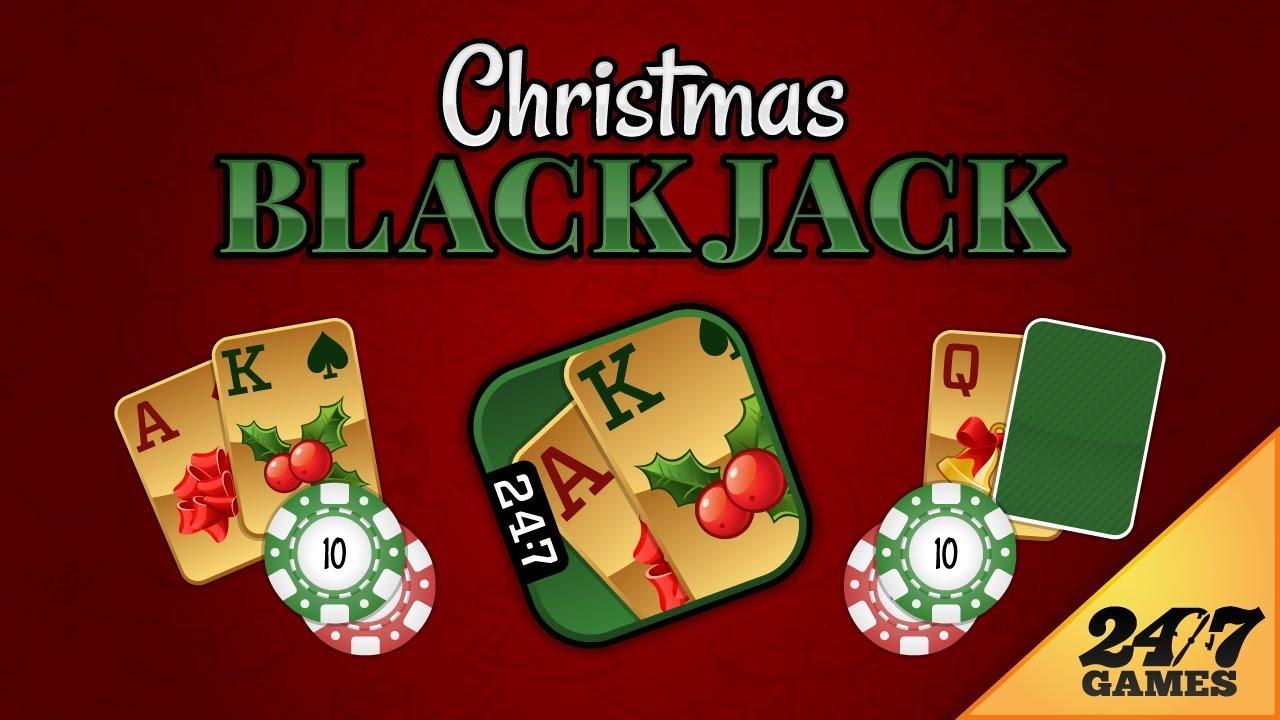 christmas blackjack app preview