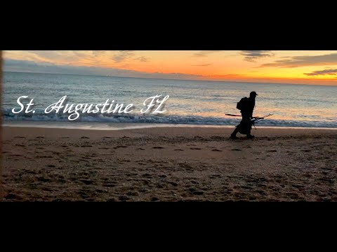 Winter Pompano FIshing St Augustine Florida