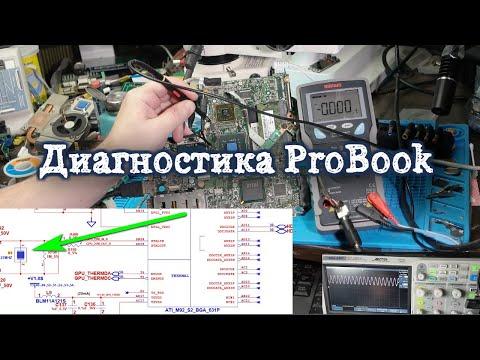 PROBOOK 4510S диагностика, платформа INVENTEC 6050A2252701-mb-a03