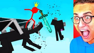 Download Reacting To WORLD'S CRAZIEST STICK FIGHT ANIMATION! Mp3 and Videos