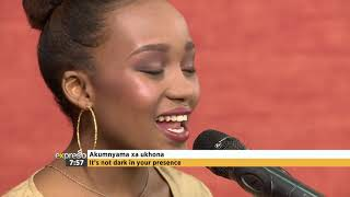 "Mimie Nomz Performs  ""Yesu Langa Lomphefumlo"""