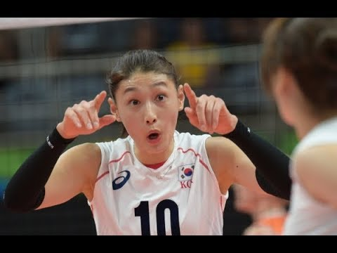 Korea Vs Philippines _2017 Asia women volleyball Championship