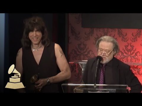 Tommy & Marky Ramone acceptance speech at Special Merit Awards | GRAMMYs