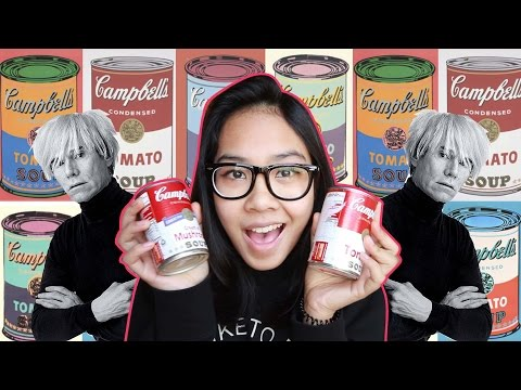 Dhila's Talk: Andy Warhol's Campbell's Soup