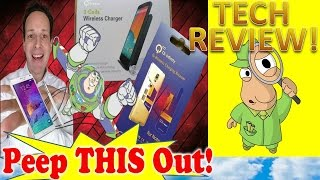 qi infinity wireless charging review for samsung galaxy note 4 peep this out