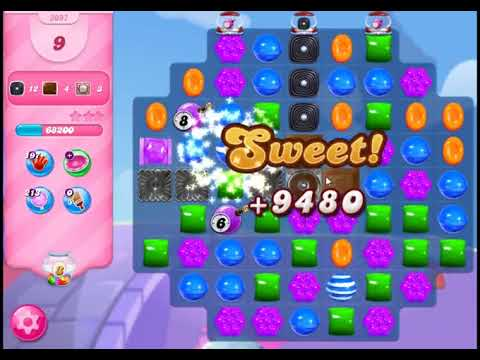 Candy Crush Saga Level 3097 - NO BOOSTERS