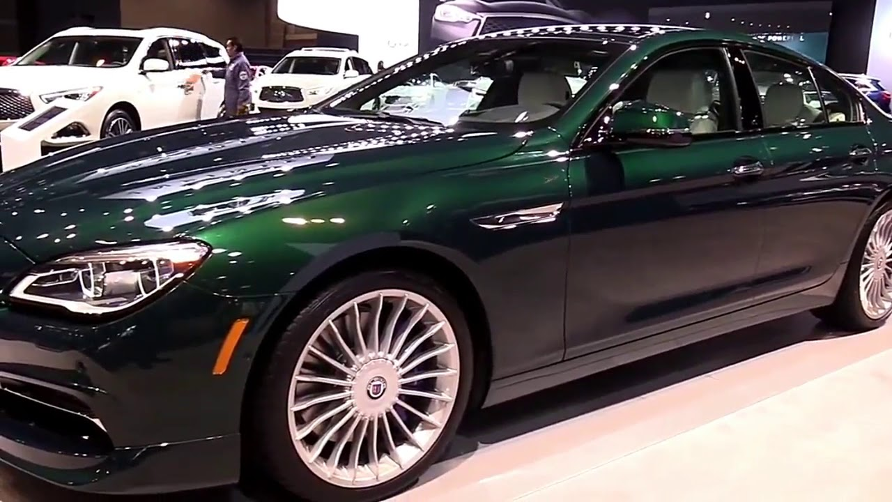BMW Alpina B6 >> 2019 Bmw Alpina B6 Gran Coupe Marketed From 2018 Edition Design Special First Impression Lookaround