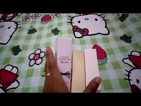 Review Parfum Mini By Oriflame - Love Potion Secret, Miss Giordani Dan Eclat Famme Weekend