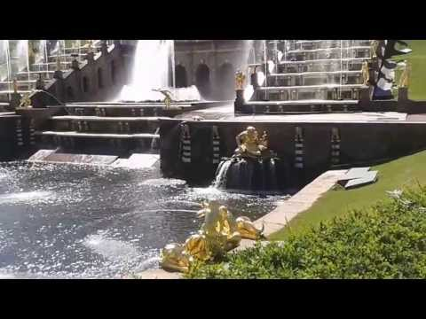 Фонтаны Петергофа.Peterhof, Summer Palaces fountains2013
