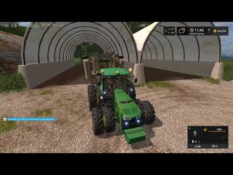 Farming Simulator 17 | Cultivating on Upper Mississippi River Valley map with Seasons Mod