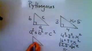 Matematik 1a 1b 1c 2a 2b 2c A Pythagoras sats.wmv