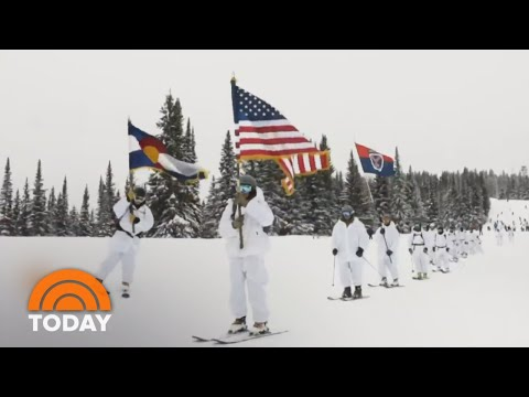 Meet The Skiing Soldiers Of The 10th Mountain Division | TODAY