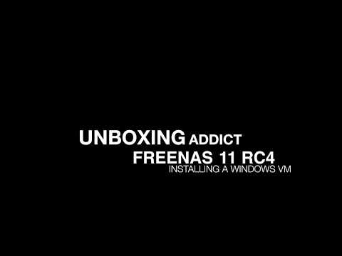 FreeNAS 11 - Creating a Windows VM