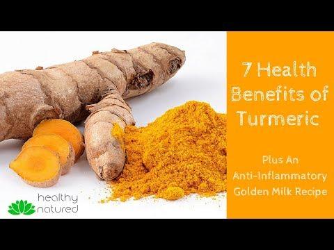 7 Health Benefits Of Turmeric (Plus Anti-Inflammatory Golden Milk Recipe)
