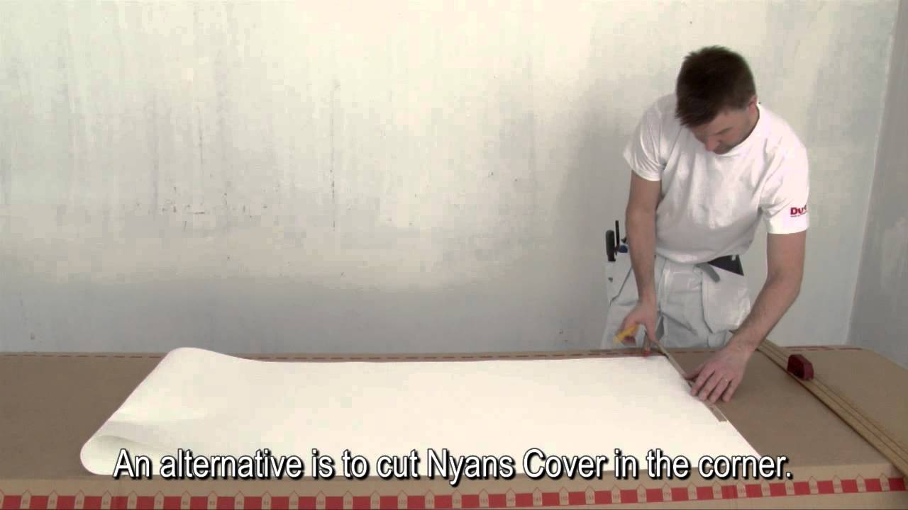Inredning cover up tapet : Nyans Cover Eng text - YouTube