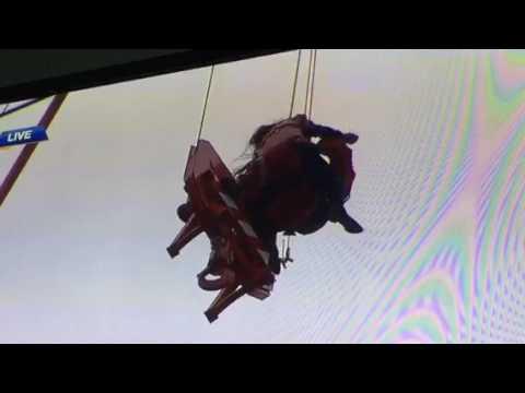 Crane rescue Toronto